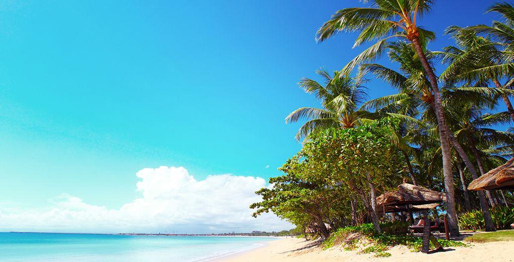 Longez des plages de rêve...