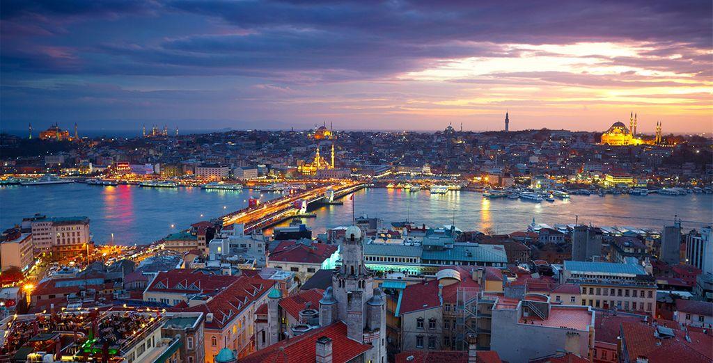 Bienvenue à Istanbul...