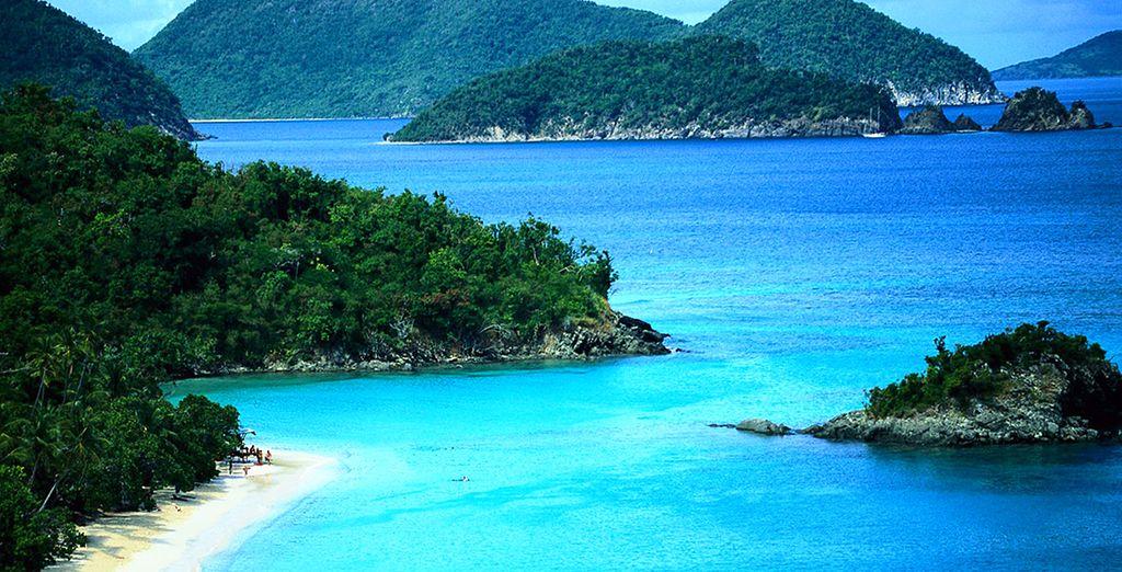 Paysage Philippines, eaux turquoises, plages idylliques