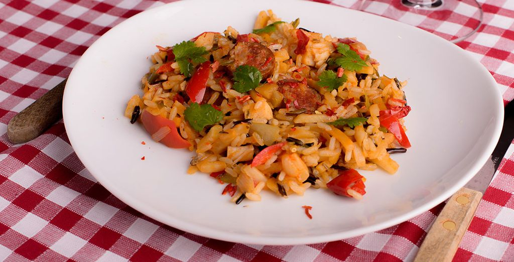 N'oubliez pas de vous faire plaisir avec la cuisine du Pays Cajun !