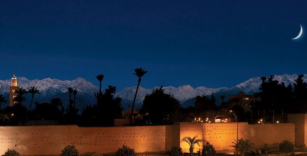 Et offrez-vous une soirée en toit-terrasse pour admirer la beauté de l'Atlas au crépuscule... Très bon séjour