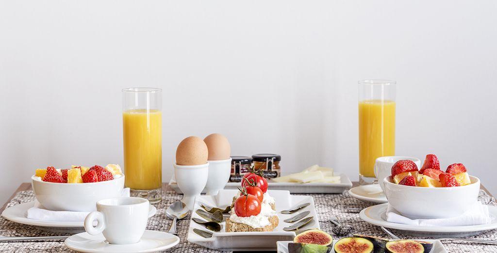 Dégustez un petit-déjeuner complet