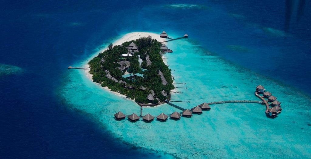 Perdu au milieu de l'océan Indien... - Adaaran Club Rannalhi 4* Malé
