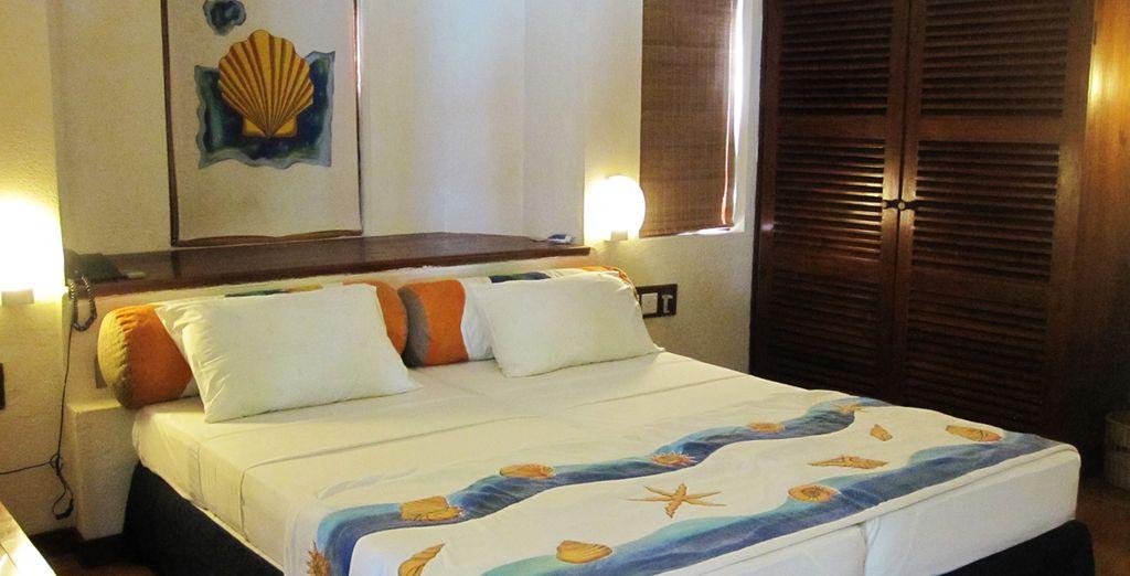 Ou bien choisissez le confort simple de la chambre Standard