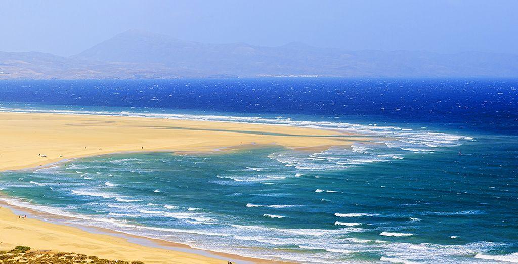 En plein coeur de Fuerteventura...