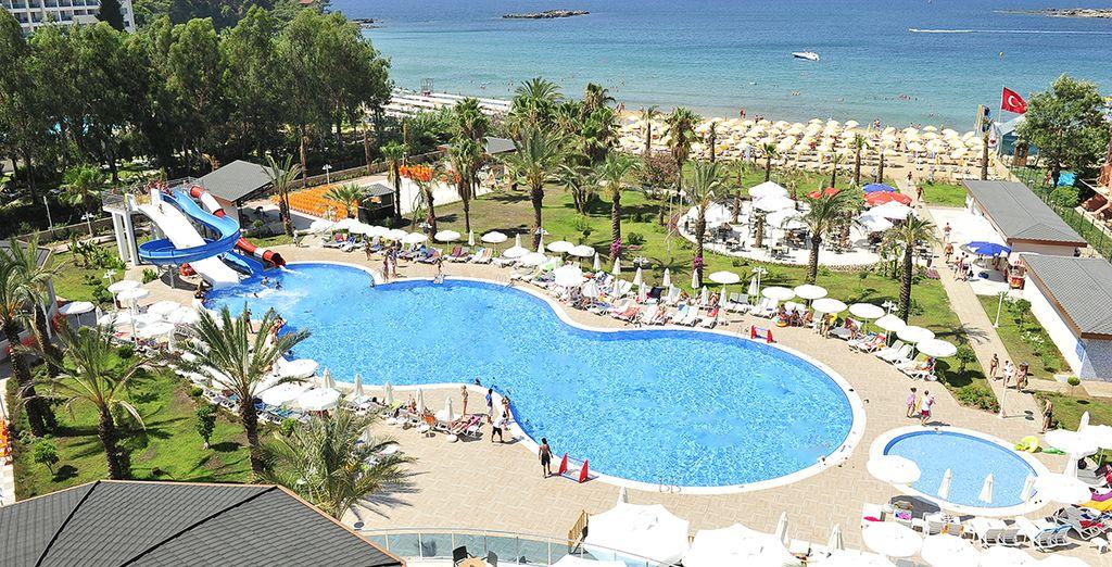 Bienvenue en Turquie - Hôtel Annabella Diamond 4* sup. Alanya