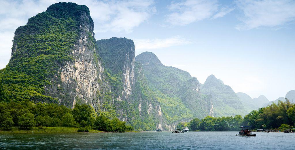 Naviguez sur la rivière Li...