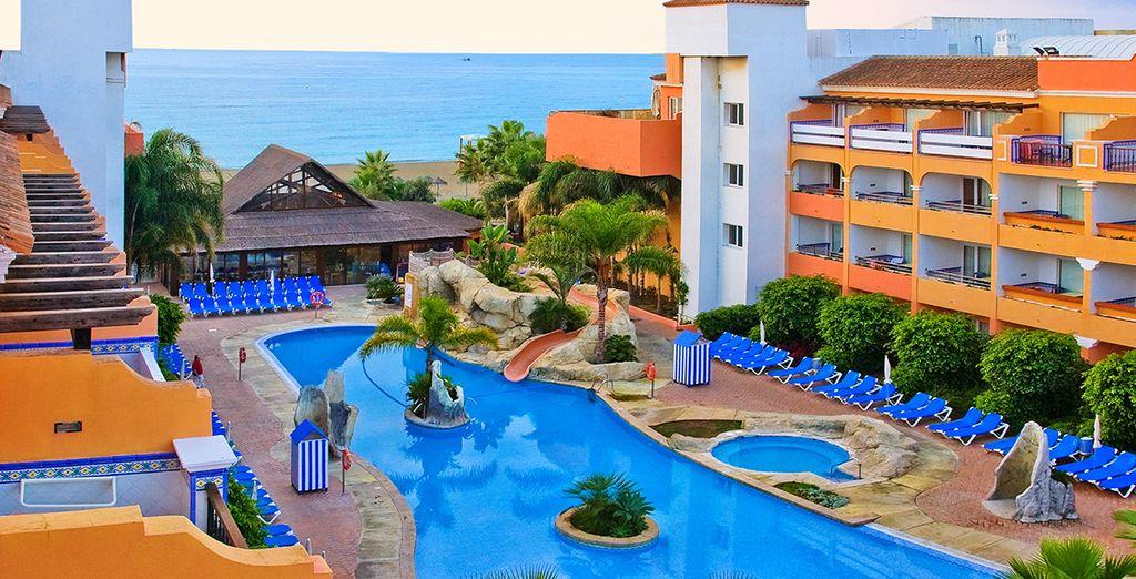 Il y a tout ça au Top Clubs Tonic Playabella... et en plus une atmosphère chaleureuse typiquement andalouse !