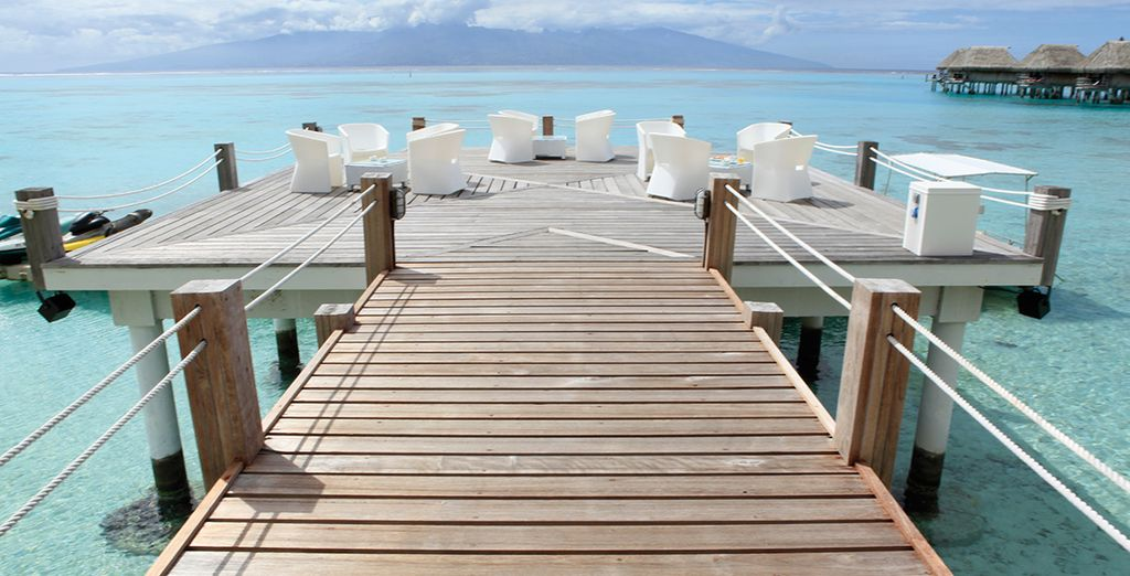 Vous prendrez ensuite la direction du Sofitel Moorea Ia Ora Beach Resort 5*...