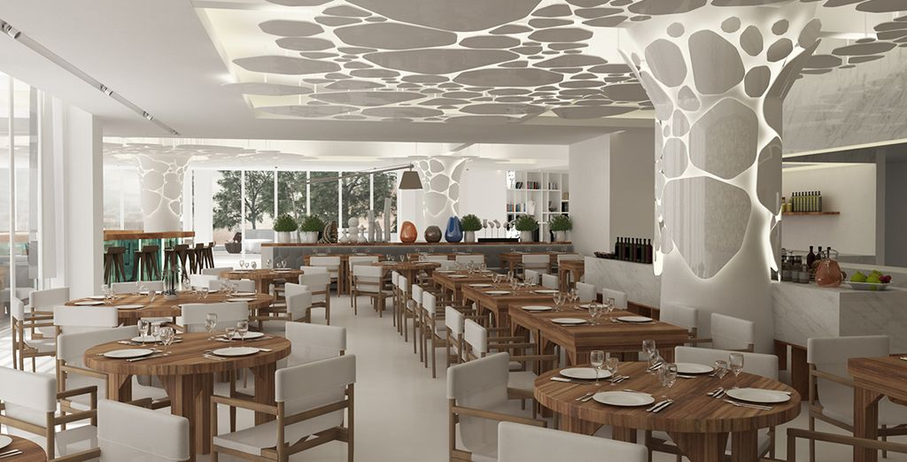 Profitez de luxueux espaces de restauration