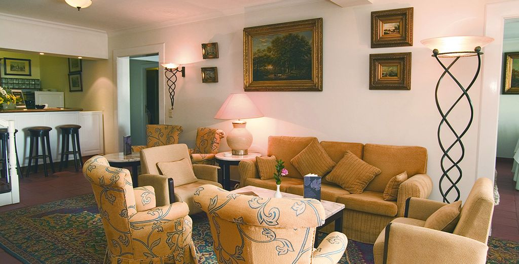 Hôtel chaleureux et confortable