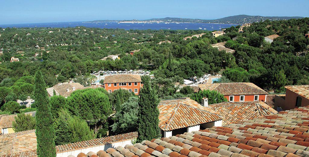 Profitez d'une vue splendide sur la baie de Saint-Tropez