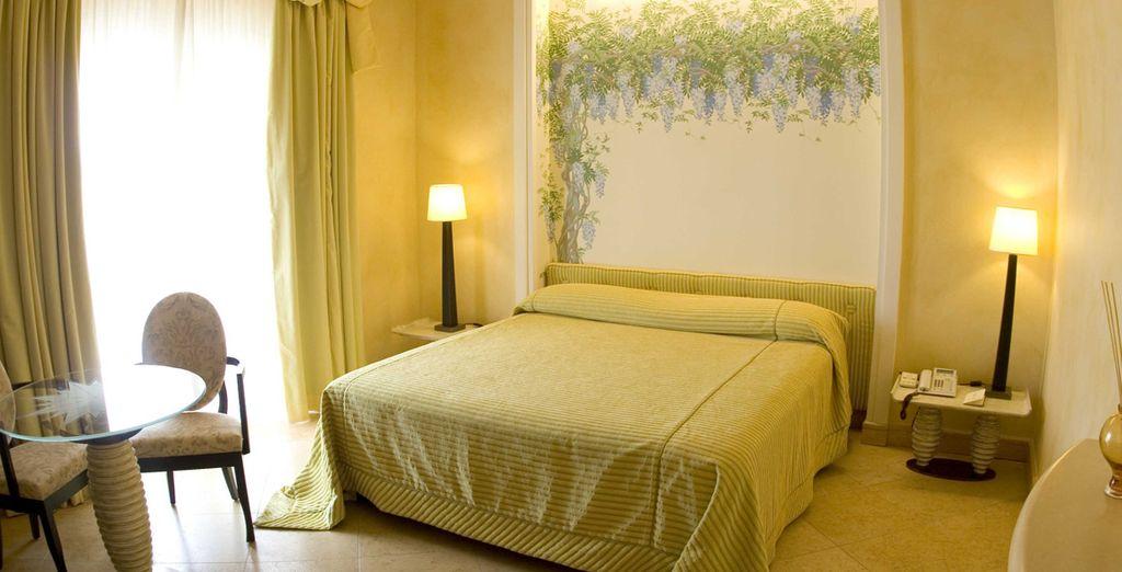 Avant de vous installer confortablement dans votre chambre Supérieure...