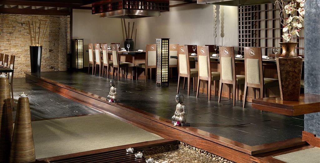 Du restaurant Yamatori