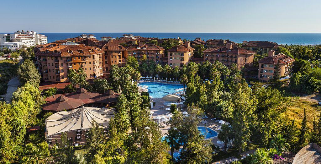 Un hôtel en bord de mer idéal pour toute la famille