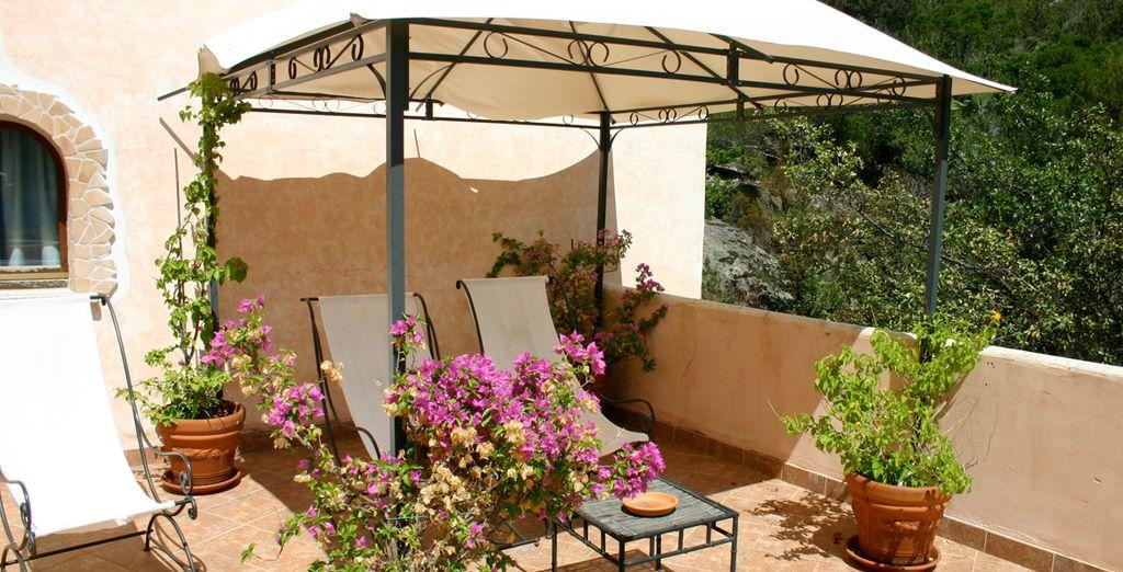 Et des bains de soleil pour vous relaxer