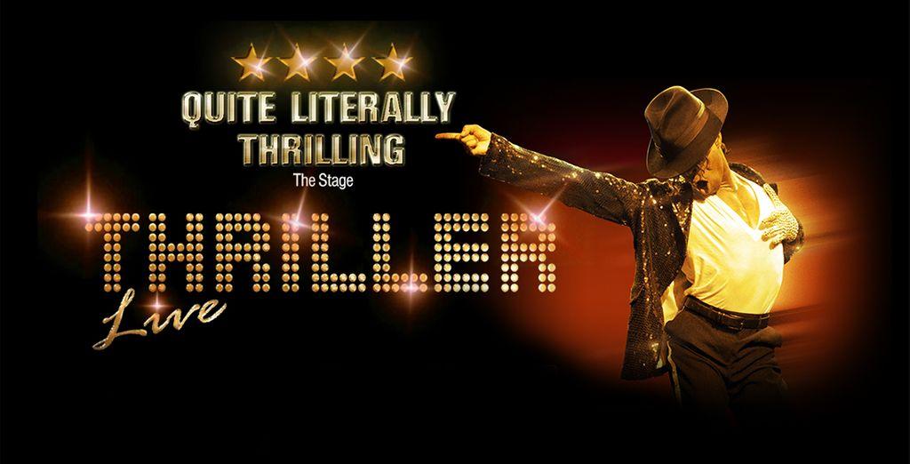 Nous connaissons tous la légende de la pop... - Spectacle Thriller + 2 nuits d'hôtel au DoubleTree by Hilton Ealing 4* Londres