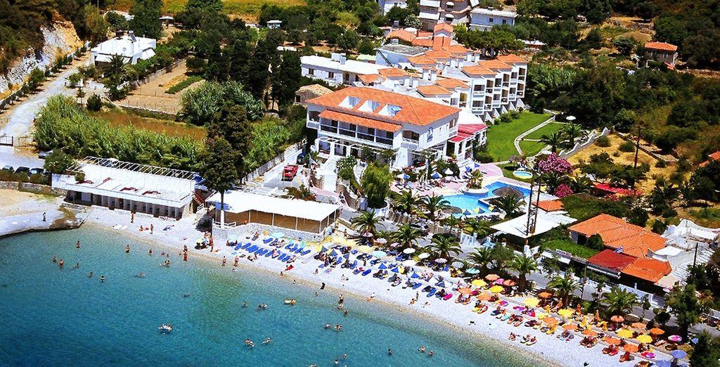 Et installez-vous à l'hôtel Samian Blu 4*