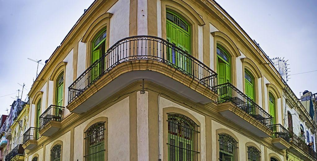 Au coeur du quartier historique de la Havane...