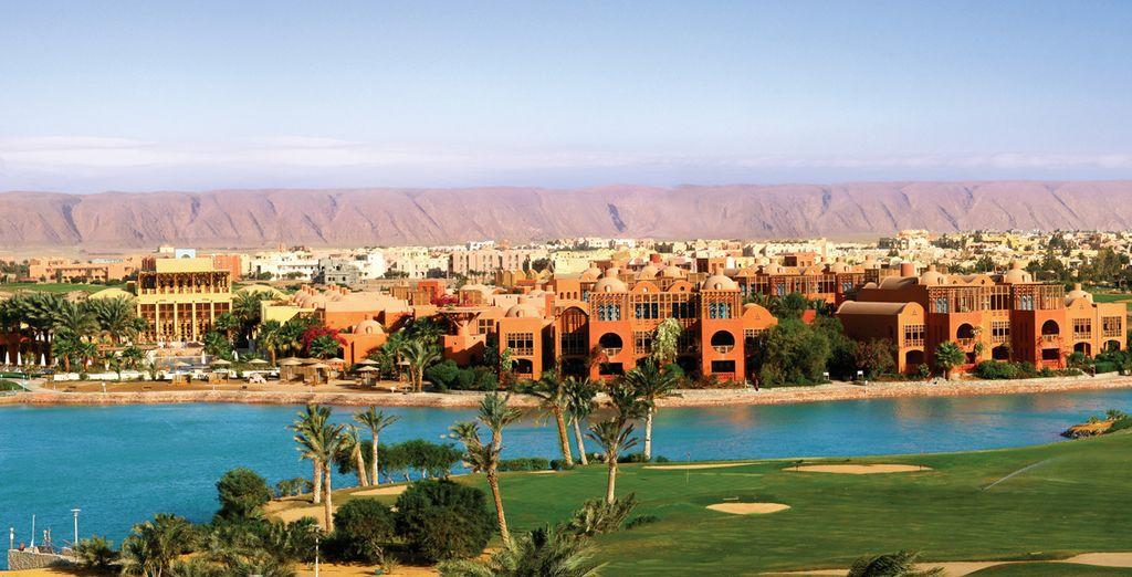 Votre hôtel 5* vous attend à quelques pas du désert - Hôtel Steigenberger Golf Resort 5* ou croisière Passion du Nil & Hôtel Steigenberger Golf Resort 5* El Gouna
