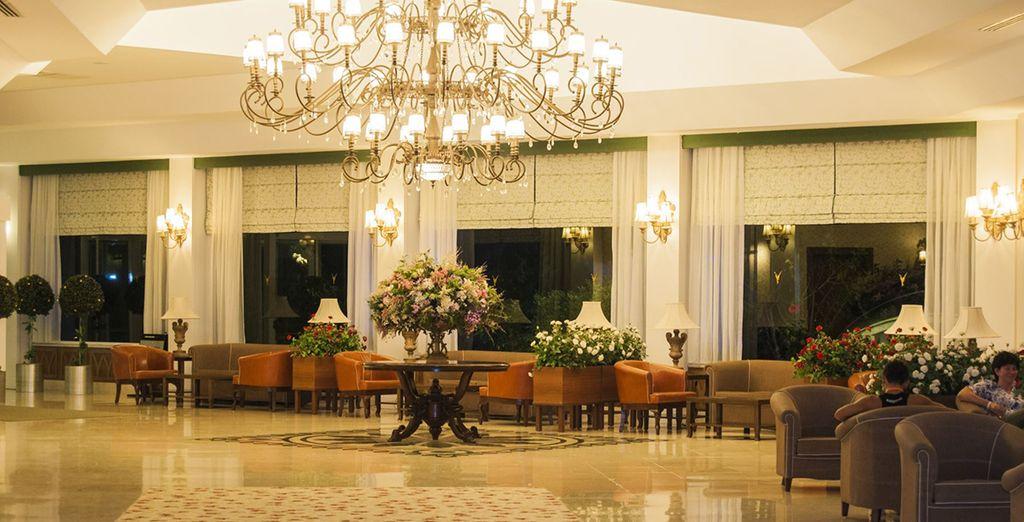 Dès votre arrivée vous apprécierez l'ambiance de l'hôtel