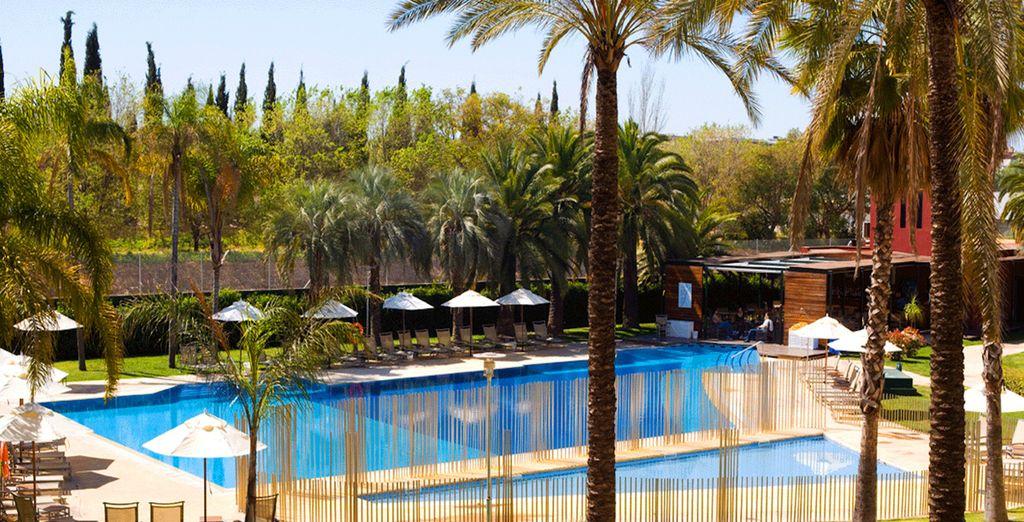 Vous rêvez d'un peu de sérénité ? - Hôtel Silken Al Andalus Palace 4* Seville