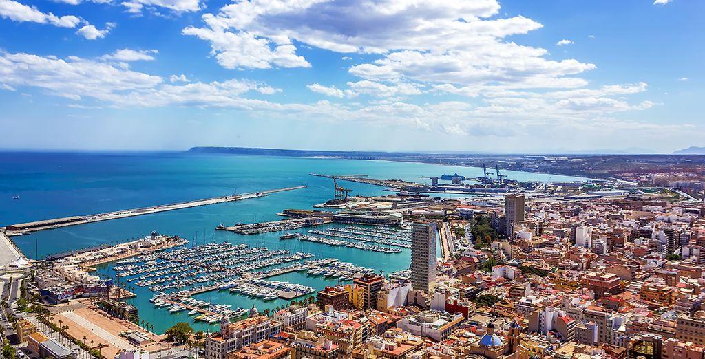 Le soleil d'Alicante