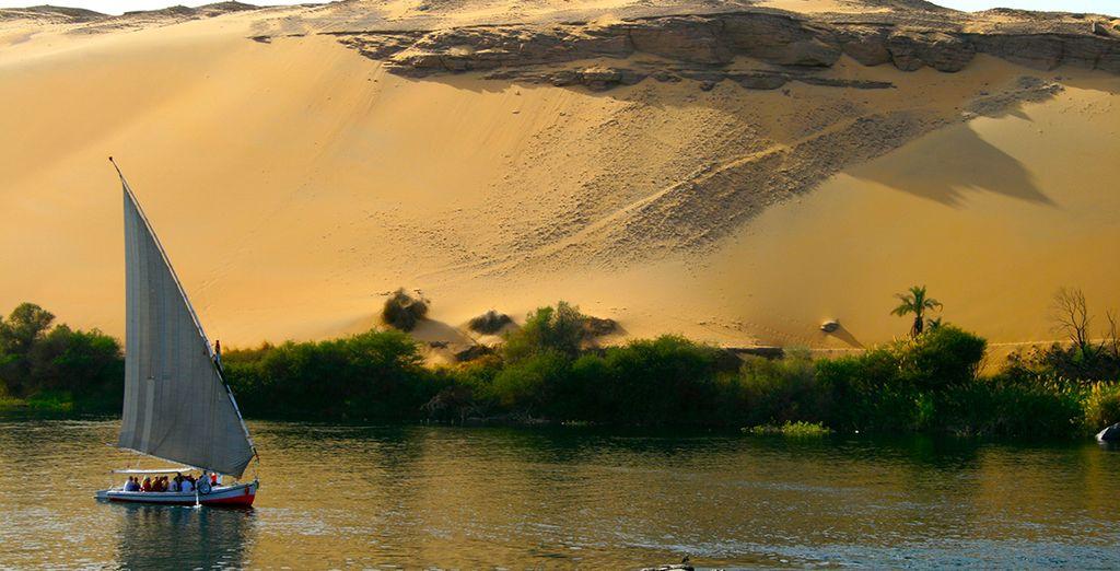 Vous serez sous le charme de l'Égypte...