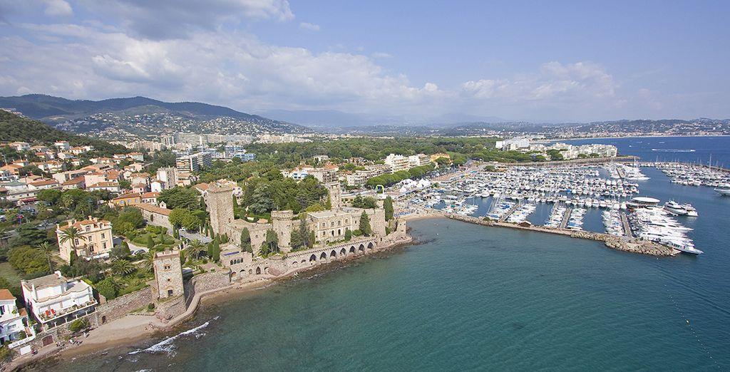 Et profitez de vacances idéales sous le soleil étincelant du sud de la France