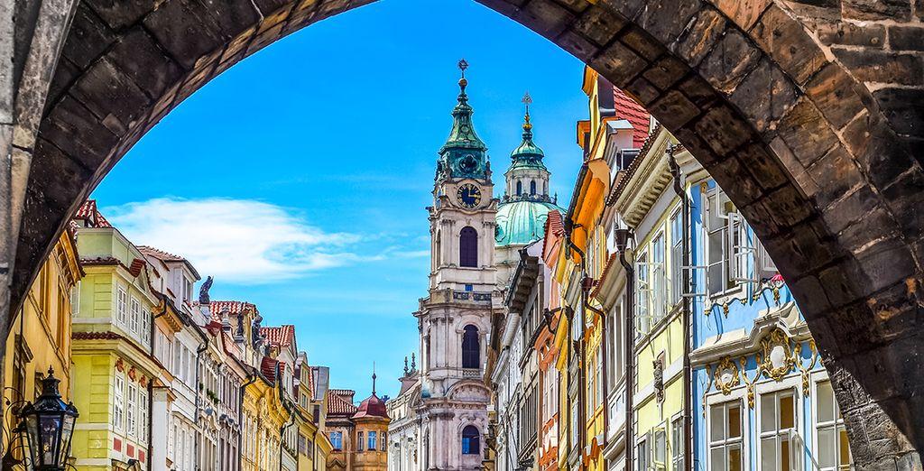 Découvrez Prague la romantique