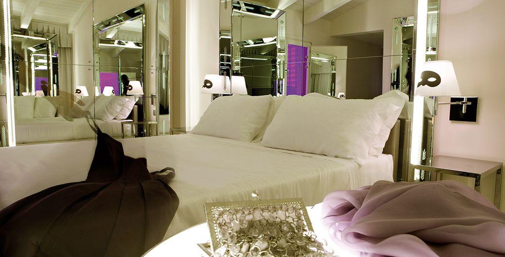 Posez vos valises dans un espace contemporain et design - Hôtel Palazzina G 5* Venise