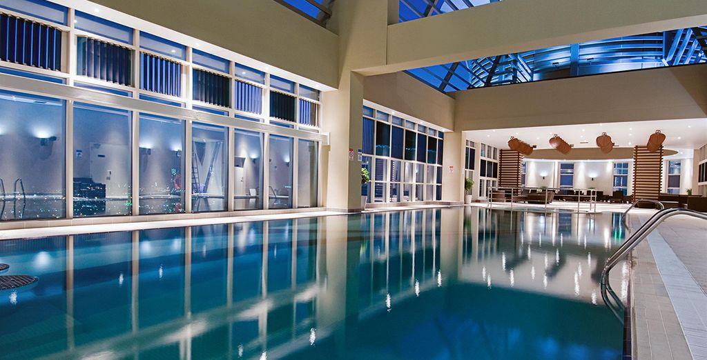 Accordez-vous une pause à la piscine intérieure