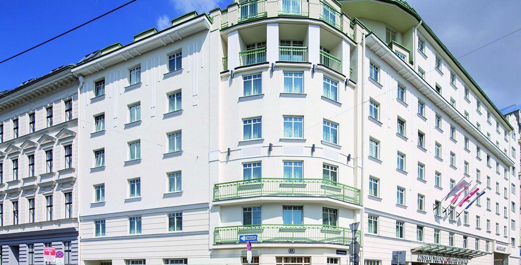 L'Austria Trend Hotel Ananas vous accueille au coeur du centre ville