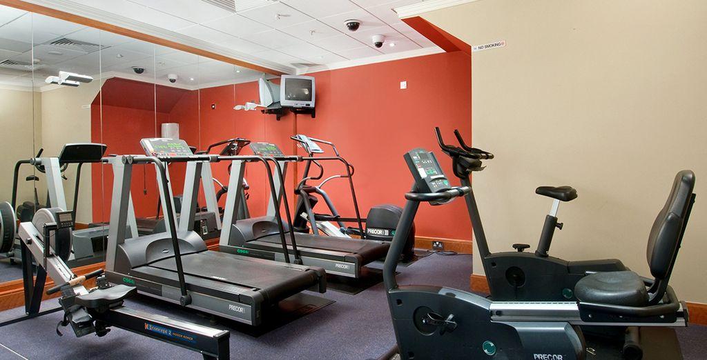 Maintenez-vous en forme au centre de fitness de l'hôtel