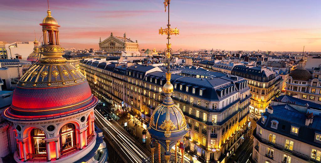 Faites une escapade à Paris...