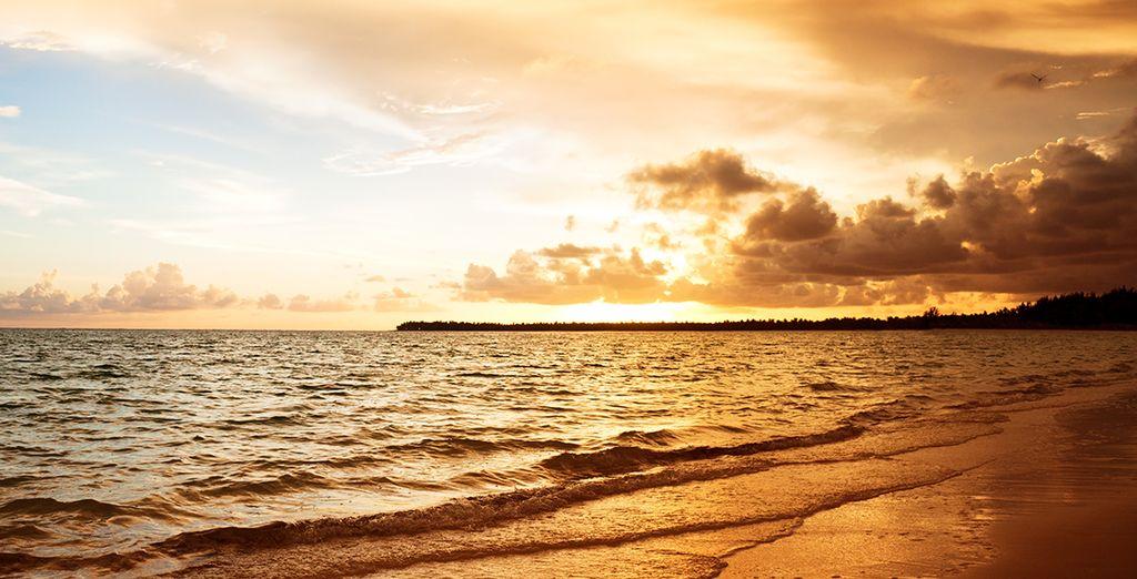 Profitez des magnifiques couchers de soleil...