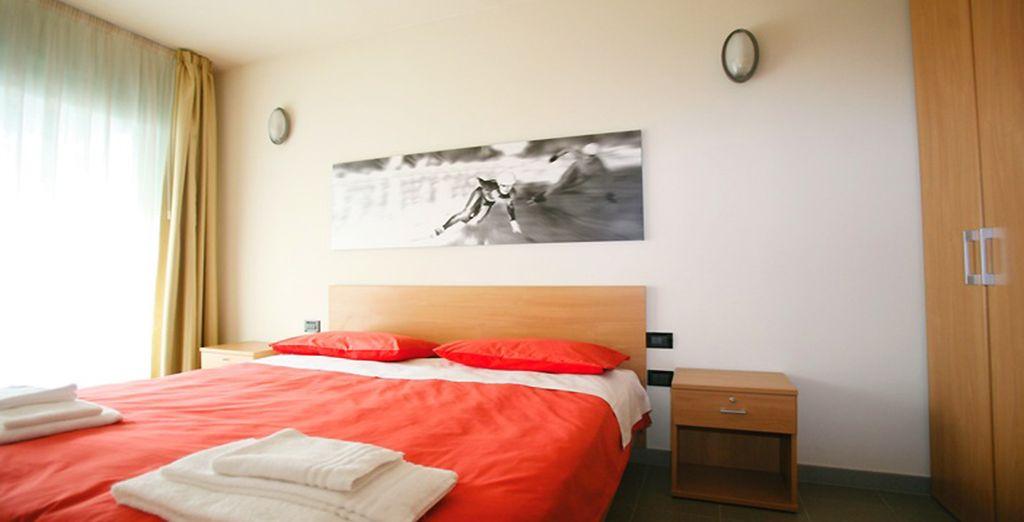 Reposez-vous dans des chambres spacieuses et décorées avec goût