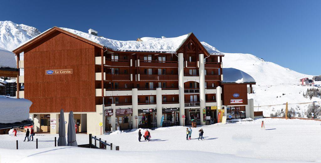 Profitez d'une situation privilégiée sur les alpages à 2050 m d'altitude