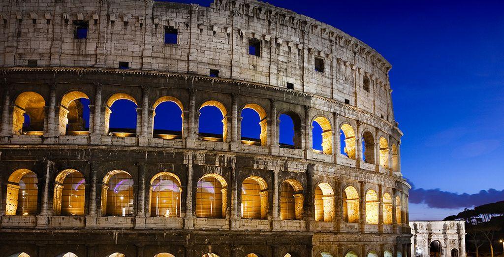 du célèbre Colisée