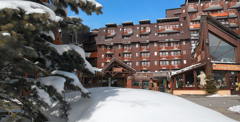 La charmante résidence L'ours Blanc vous accueille - Résidence L'Ours Blanc - Pierre & Vacances Alpe d'Huez