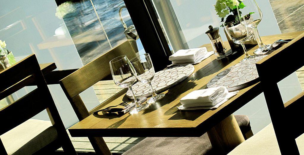 Goûtez aux délices d'une table étoilée...