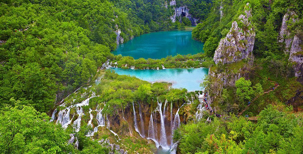 Paysages du parc naturel de Croatie