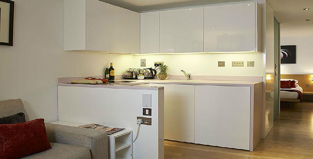 Et posez vos valises dans la résidence Go Native, sur Bermondsey Street où un superbe appartement vous attend