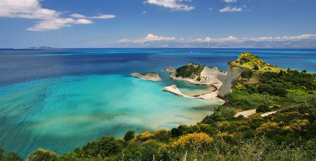 Envolez-vous pour Corfou et les îles grecques !