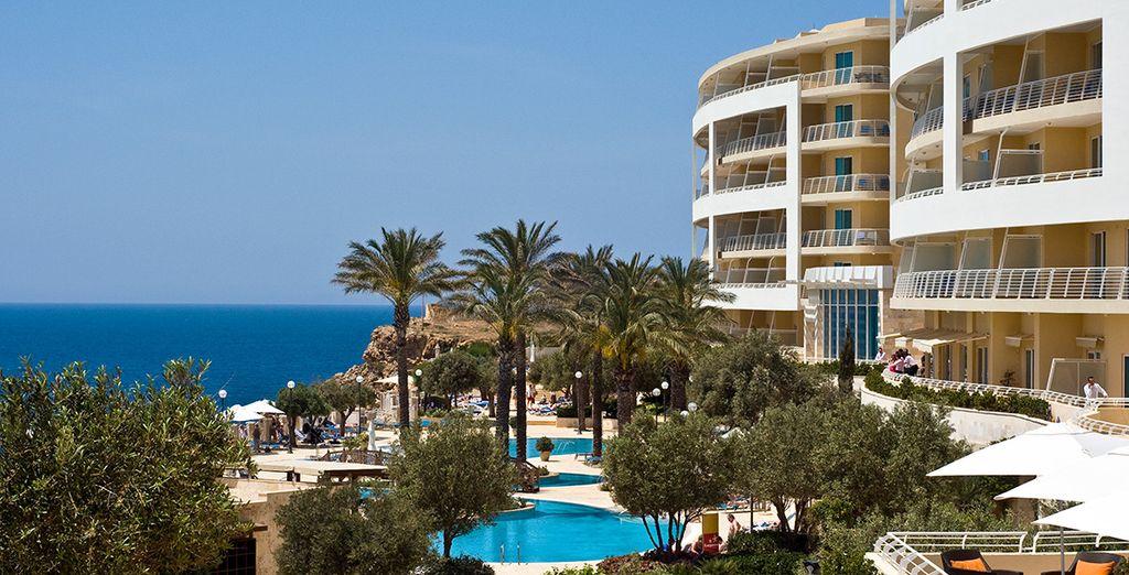 Posez vos valises au Radisson Blu Golden Sands - Hôtel Radisson Blu Resort & Spa - Malta Golden Sands 5* Mellielha