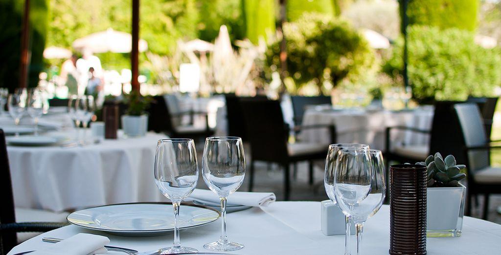 Le restaurant vous propose tous les jours une carte bistronomique de qualité