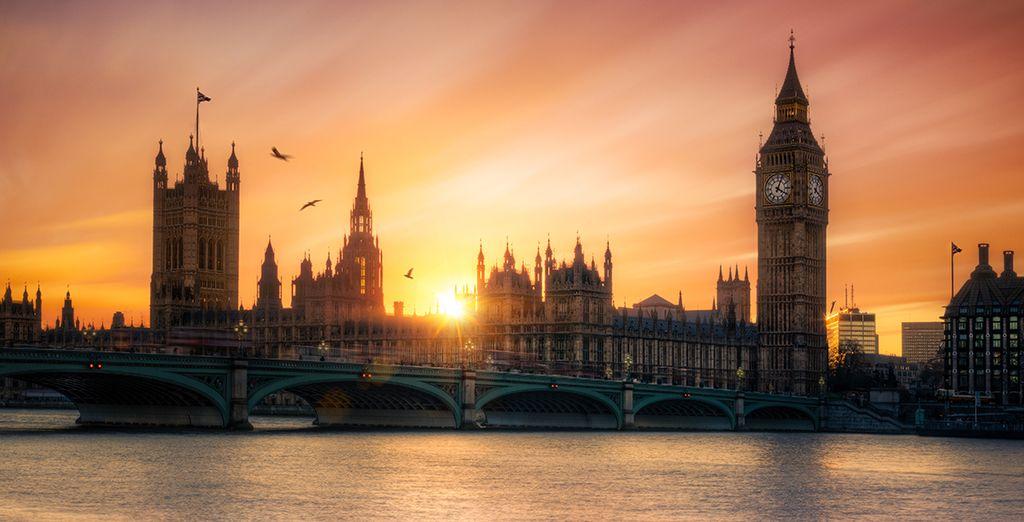 Echappez-vous le temps d'un week-end à Londres !