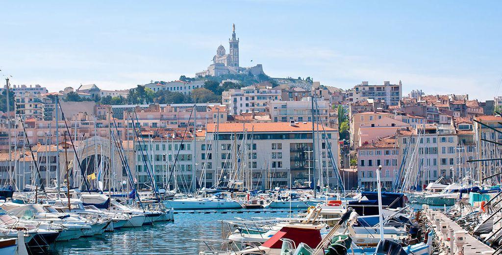 Larguez les amarres à Marseille...
