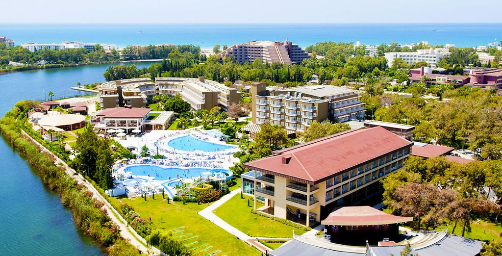 Envolez-vous pour l'Otium Eco Club Hôtel - Hôtel Otium Eco Club 5* & Circuit Trésors d'Anatolie Side