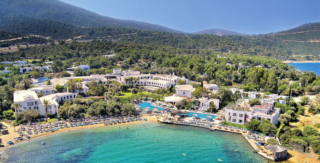 Direction un cadre naturel sublime pour vos vacances...